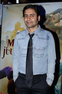 Pia Bajpai and Darshan Kummar Launching the Music of movie Mirza Juuliet 017.JPG