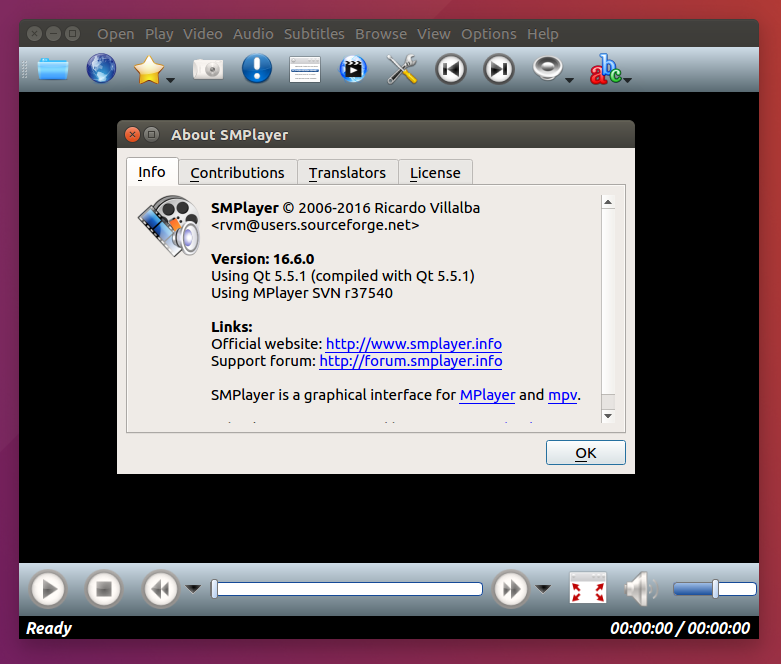 SMPlayer 16 6 0 is Released, Install on Ubuntu / Linux MInt