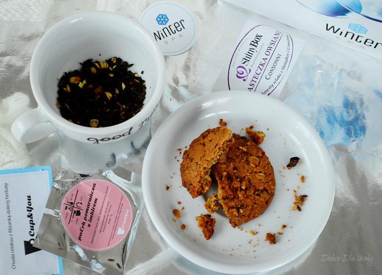 Cupandyou Herbata & Consonni Ciastko owsiane