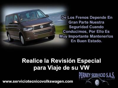 Mantenimiento Frenos Perney Servicio SAS Taller VW