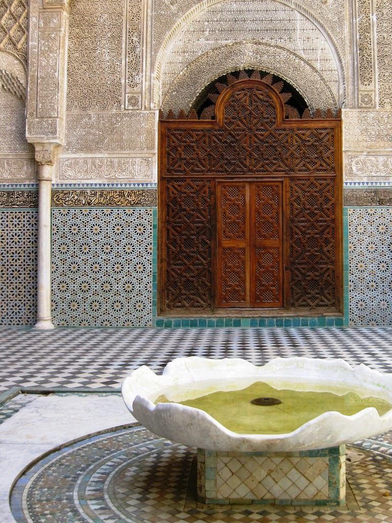 Fez & its Islamic Attractions: madrasas & mosques ~ Alhamratour