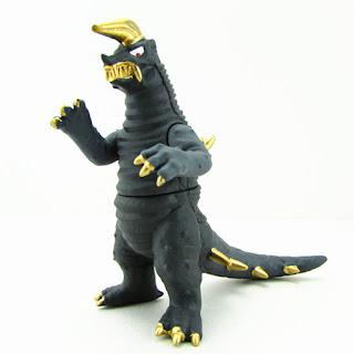 Black King Monster UI Soft Rubber Ultra Kaiju 13cm