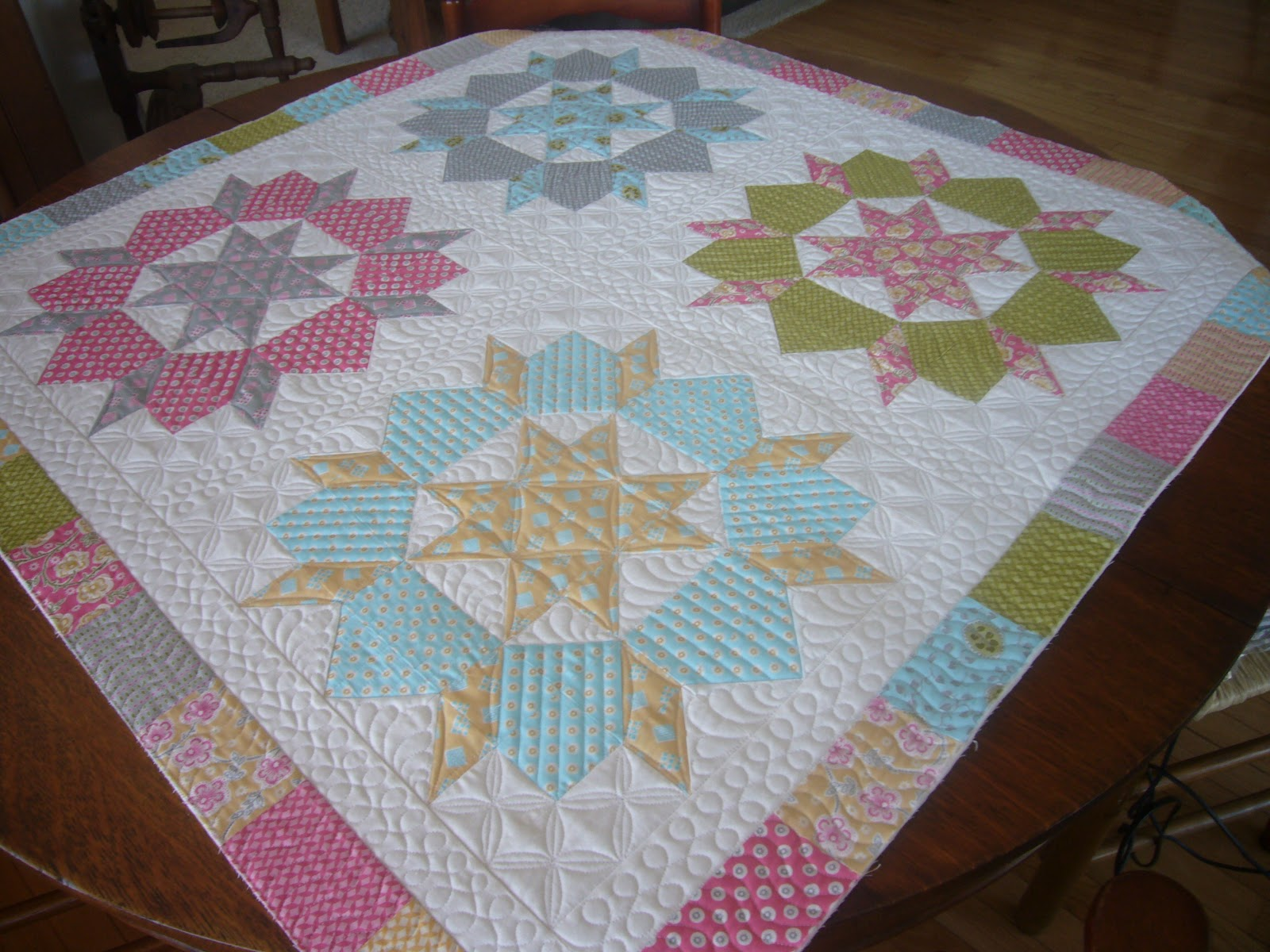 The Quilted Pineapple Quilting Eye Candy