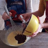 facile à faire avec vos enfants recette gateau chocolat banane léger pas à pas