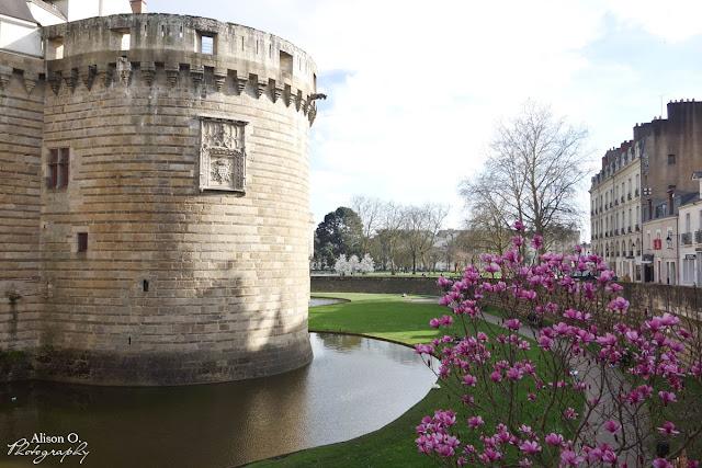 Nantes au printemps - Château