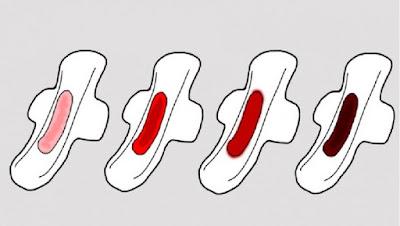 Info : Warna Darah Haid Menunjukkan Tahap Kesihatan Tubuh Badan
