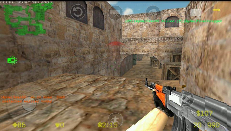 Counter Strike ganha versão para Android graças ao XDA