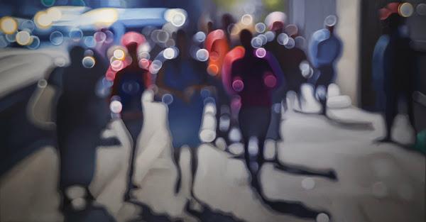 blurred vision demonstaton