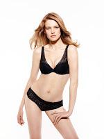 russian model natalia vodianova sexy etam lingerie models photo shoot