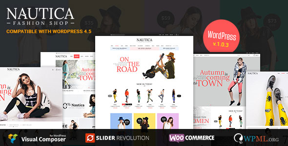 Nautica Responsive WooCommerce WordPress Theme