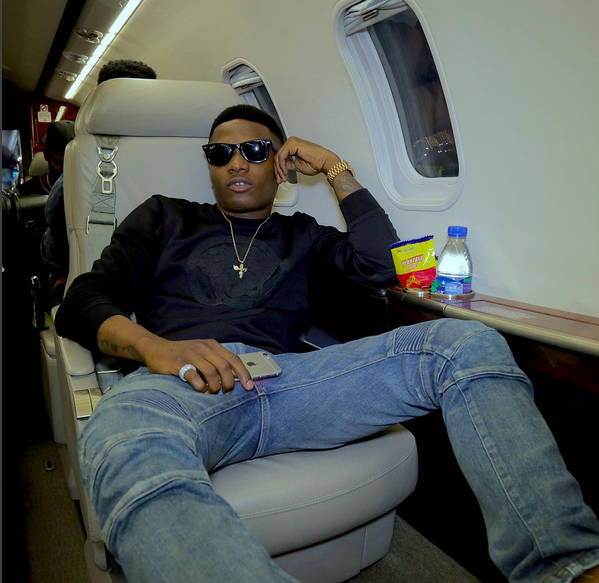 Haha! It's not every time you get to see a really big artiste – Wizkid – fall in love with some other artistes' work