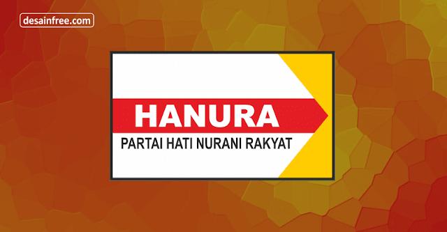 Logo Partai Hanura Format CorelDraw