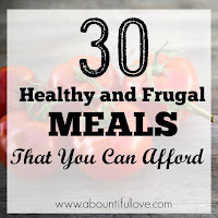Frugal and Healthy Meals