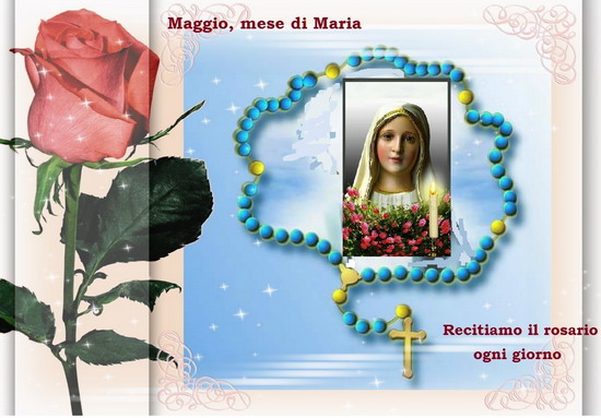 MAGGIO MESE DEDICATO A MARIA