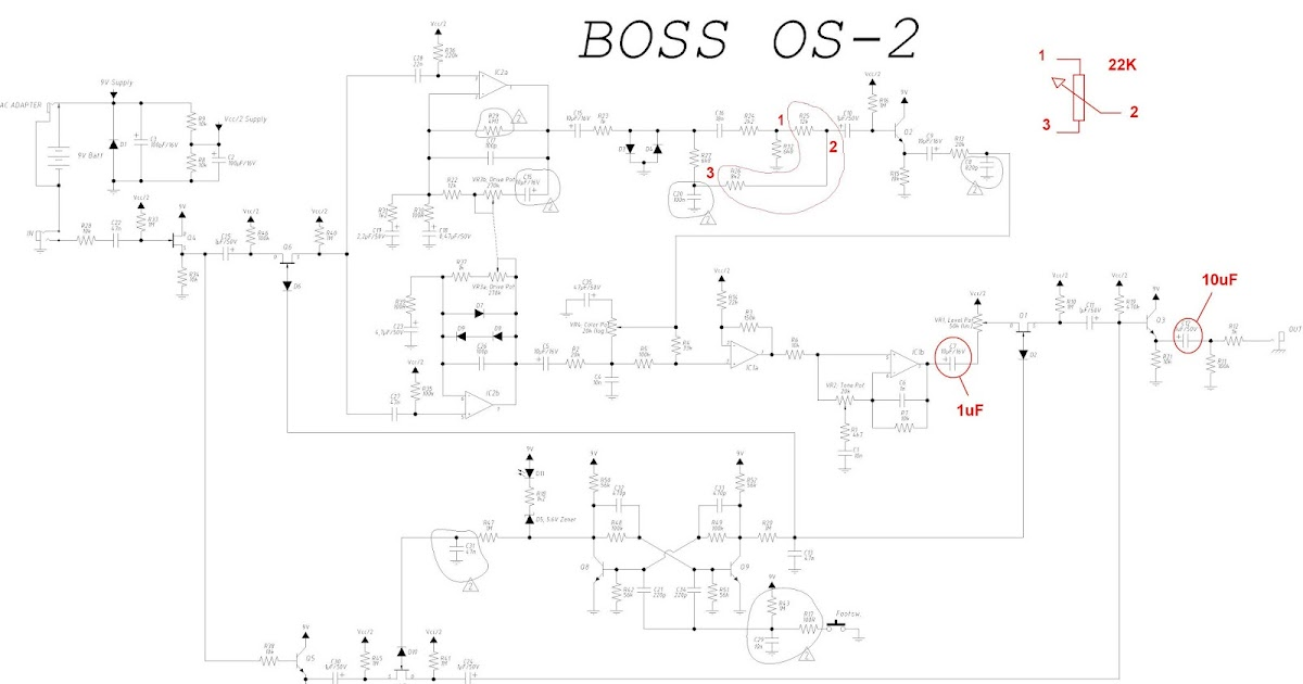 guitar4geek: Overdriver / Distortion Boss OS-2 or