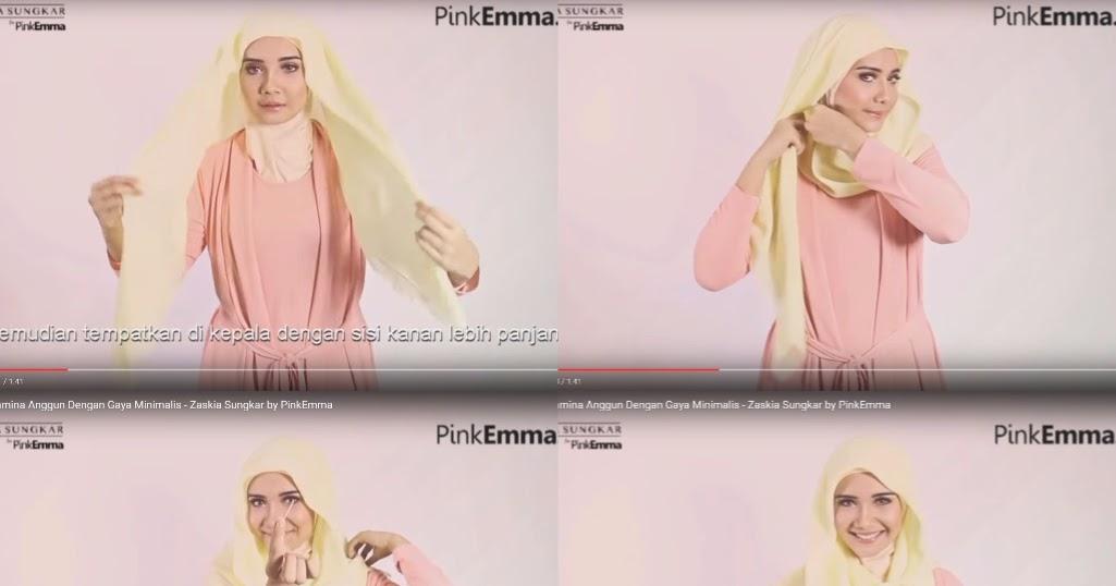 11 Tutorial Hijab Ala Zaskia Sungkar Pashmina Segi Empat Terbaru Terlengkap 2017 Tampil Cantik Dengan Hijab