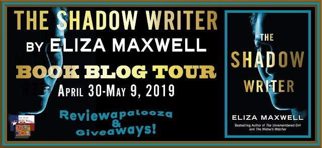 The Shadow Writer book blog tour promotion banner