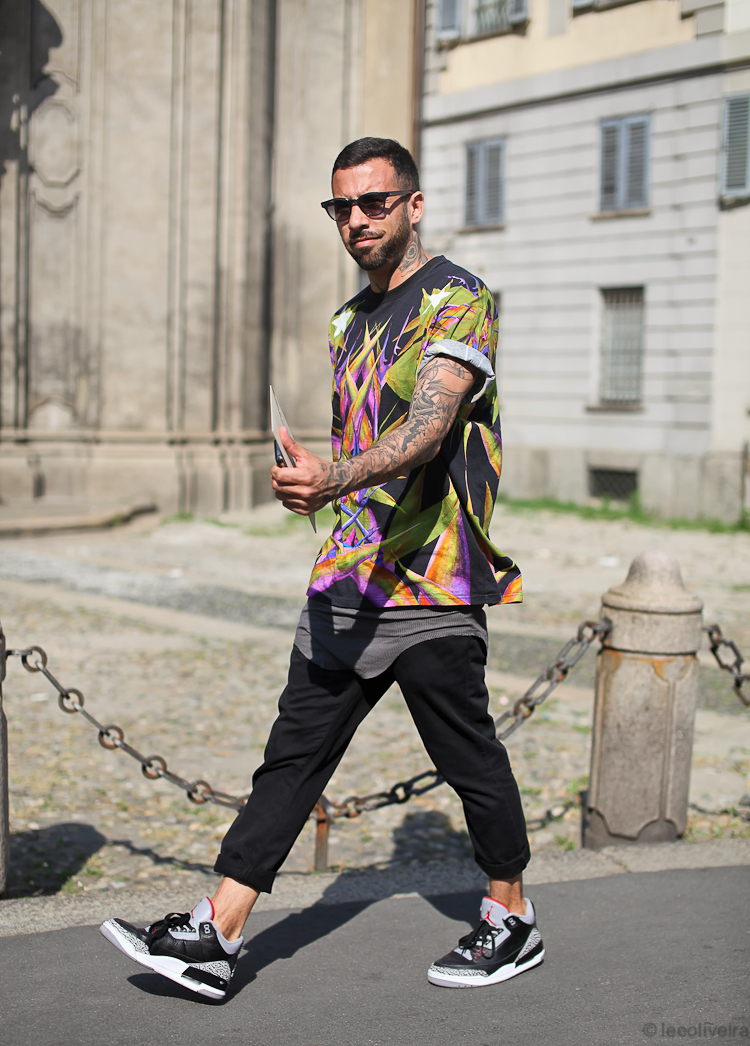 MY FASHION TRICKS: Street Style...Men's Fashion Week, Milan