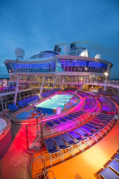 Spiritual Vigor: A Glimpse Inside The Largest Cruise Ship ...