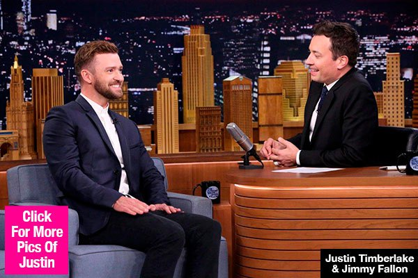 Justin Timberlake Encourages Fans 'To Vote' On 'Tonight Show' After Selfie Scandal