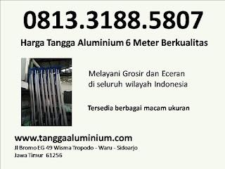 Harga tangga aluminium 6 meter berkualitas