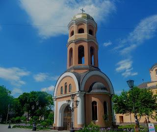 Галич. Майдан Різдва. Церква Різдва Христова. Дзвіниця
