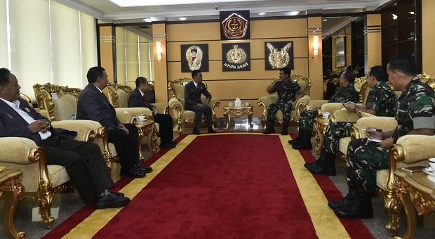 TNI Dukung Perkembangan dan Prestasi Atlet-Atlet Nasional