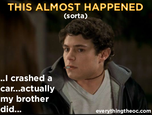seth cohen tried out to play ryan atwood the o.c.