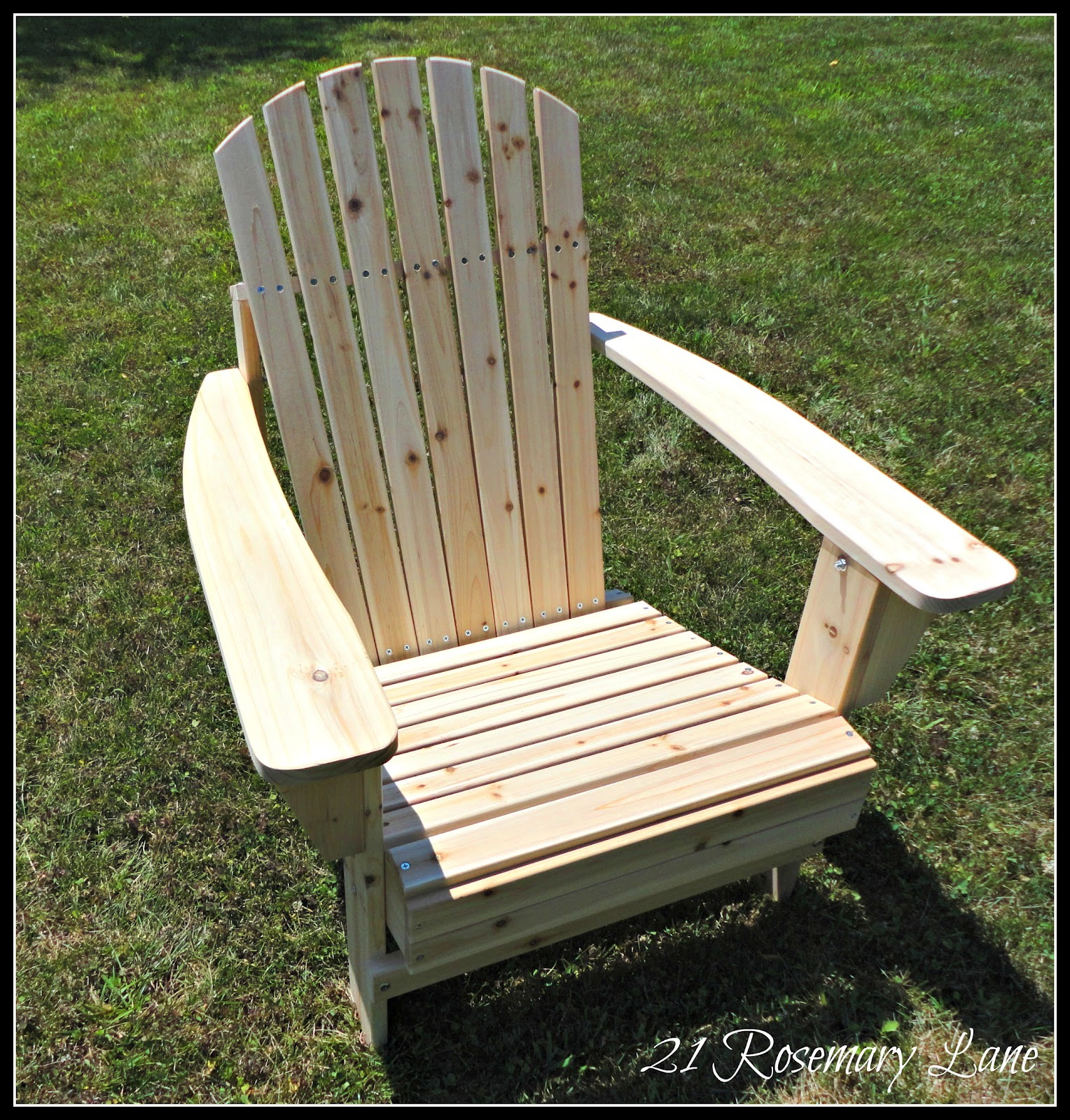 Paint For Adirondack Chairs Glider Chair Covers Uk 21 Rosemary Lane My Freshly Painted