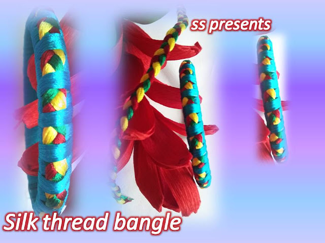 Here is silk thread jewellery,silk thread bangles,silk thread choker making,silk thread necklace making,silk thread manga tikka,silk thread finger ring,silk thread hair clips,silk thread bridal bangle set,How to make silk thread design bangle making at home