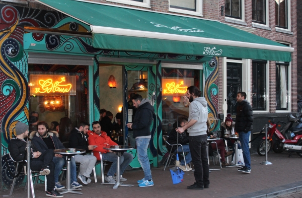 Coffee Shop The Green House em Amsterdã