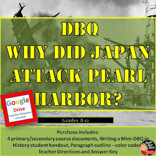 https://www.teacherspayteachers.com/Product/World-War-II-Mini-DBQ-Why-Did-Japan-Attack-Pearl-Harbor-8-12-3033029