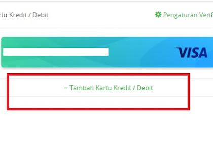Cara Menambahkan Kartu Kredit di Tokopedia Sebagai Metode Pembayaran