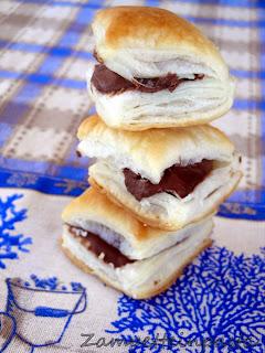 Nutellini - Pasta sfoglia e Nutella