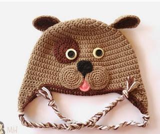 http://www.artedetei.com/2014/02/gorro-perrito-crochet-patron-gratis.html