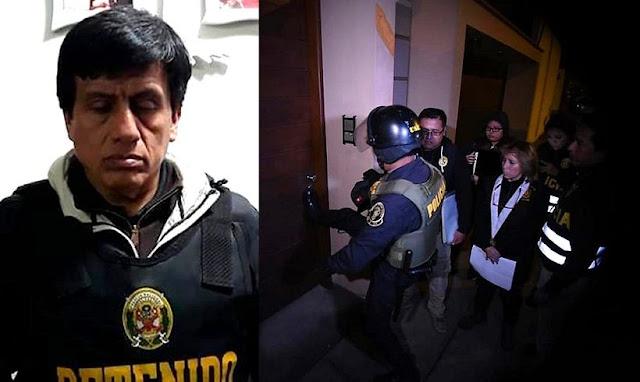 Detienen a Antonio Camayo y 10 integrantes en megaoperativo contracorrupción