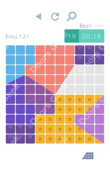Cheats, Walkthrough for Blocks and Shapes Level 121