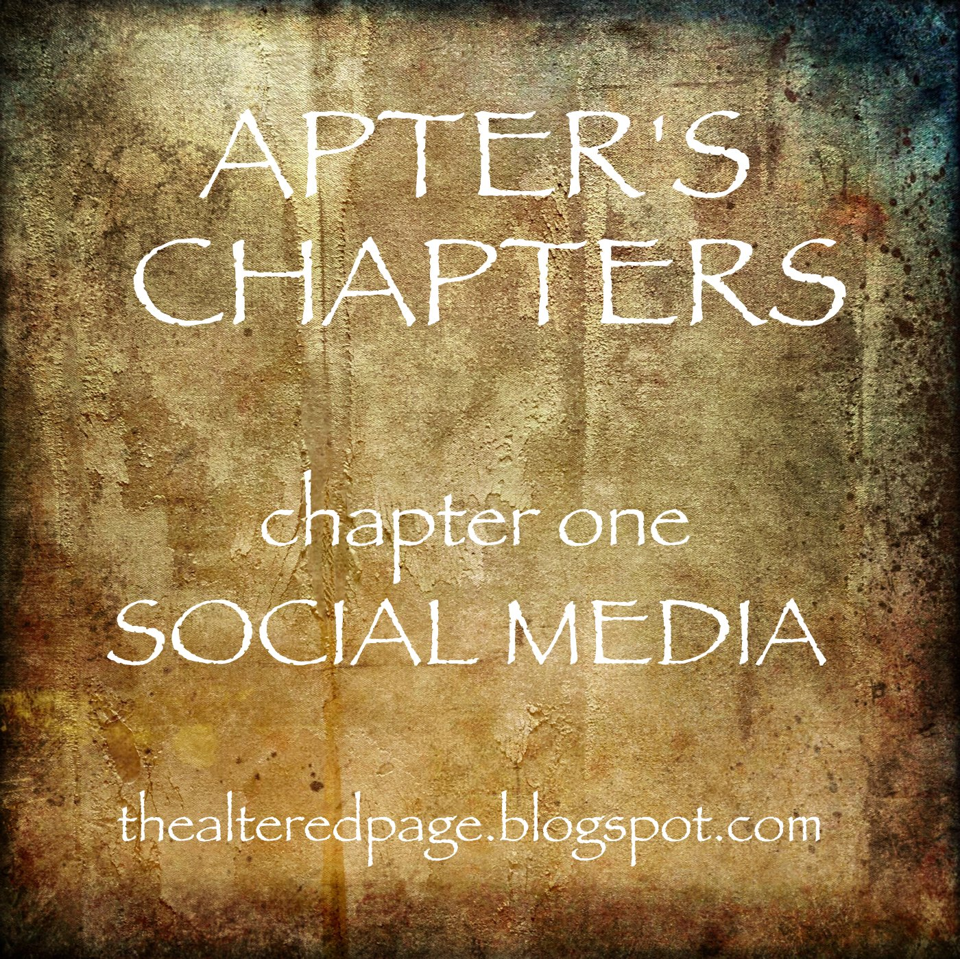 apter's chapters