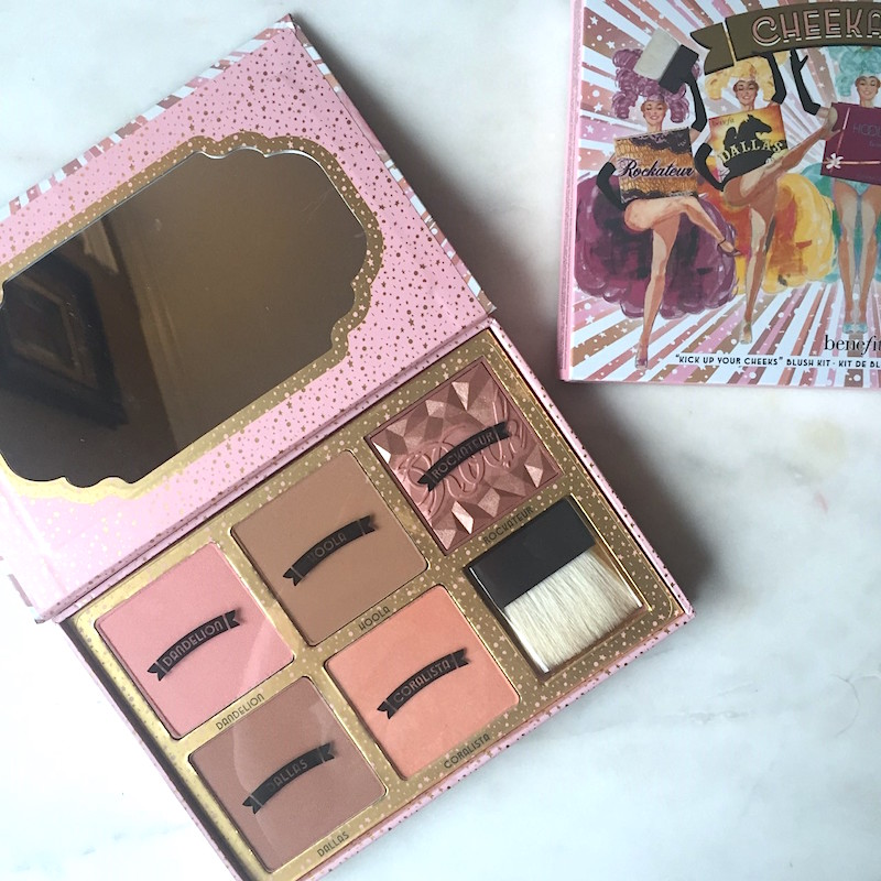 Benefit Cosmetics Cheekathon Blush & Bronzer Palette: A quick review