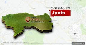 Temblor en Junín de 4.0 Grados (Hoy Domingo 24 Septiembre 2017) Sismo EPICENTRO Satipo - Chanchamayo - Huancayo - IGP - www.igp.gob.pe