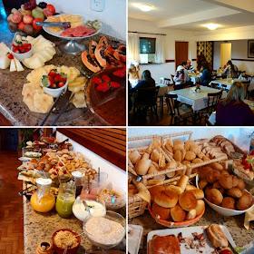 Café da manhã Pousada Savoy - Campos do Jordão - São Paulo - Brasil