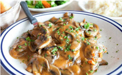 CHICKEN MARSALA RECIPE #food#chicken
