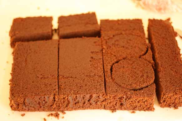 Stack The Rectangles And Circles Then Stick Them Together With Icing