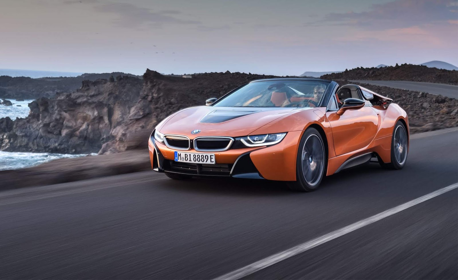 Car Review Driving A Plug In Hybrid Isn T Boring With The Exotic Bmw I8 Roadster