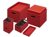 Bento Storage Boxes opened