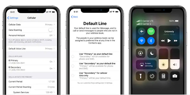 Apple's all-new dual Sim feature how to enable dual sim in iphone