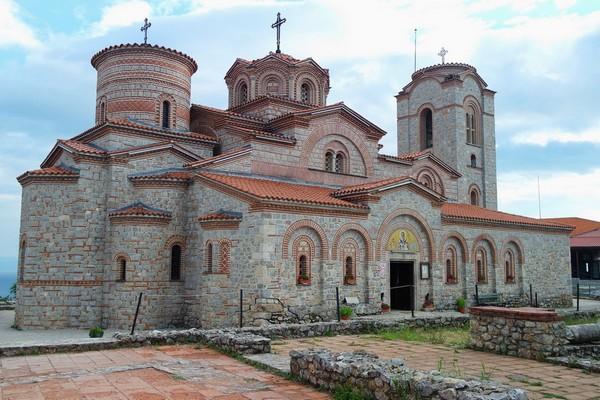 macédoine ohrid église saint pantaleimon