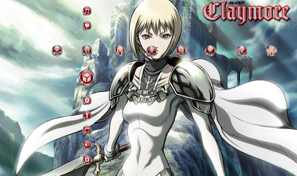 Claymore Pro PS3 Theme! - PS3 Anime Themes