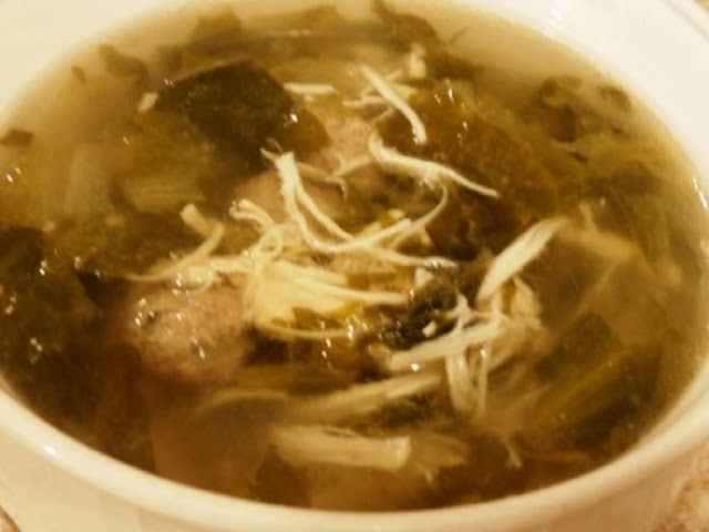 Italian style wedding soup recipe