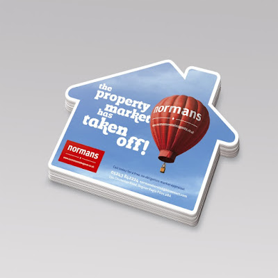 Estate Agents Leaflets Design